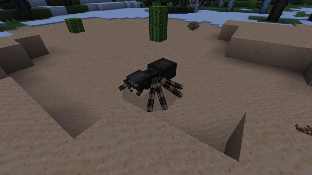 Araignée-comment-faire-un-arc-dans-minecraft