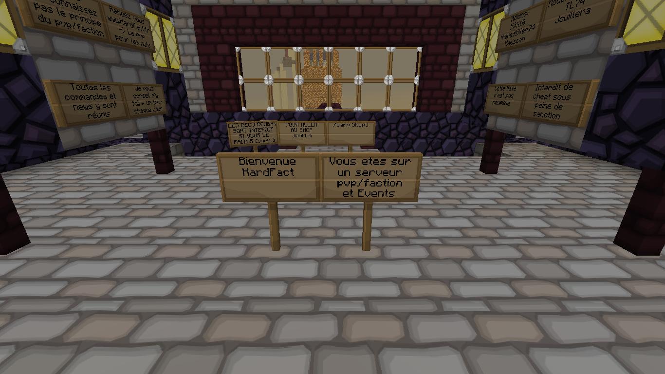 Serveur pvp Hardfact Minecraft