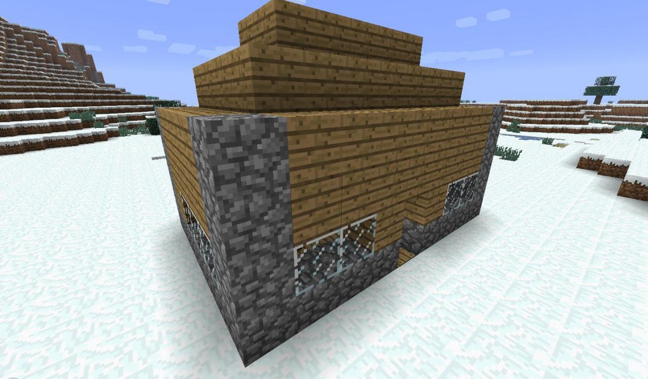 Minecraft-mod-instant-massive-structure-maison