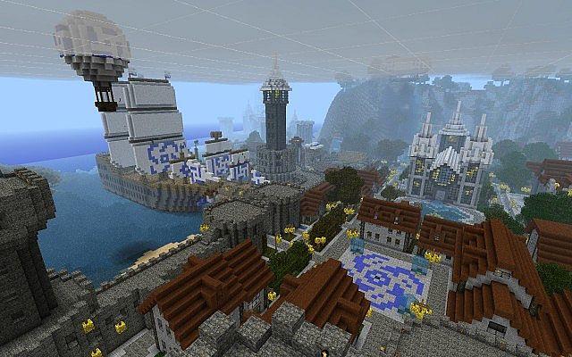 map-minecraft-Castle-Lividus-telecharger-bateau