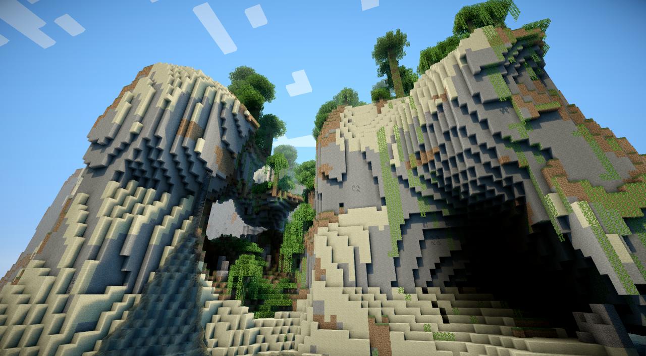 minecraft-aventure-mod-ile-flotante