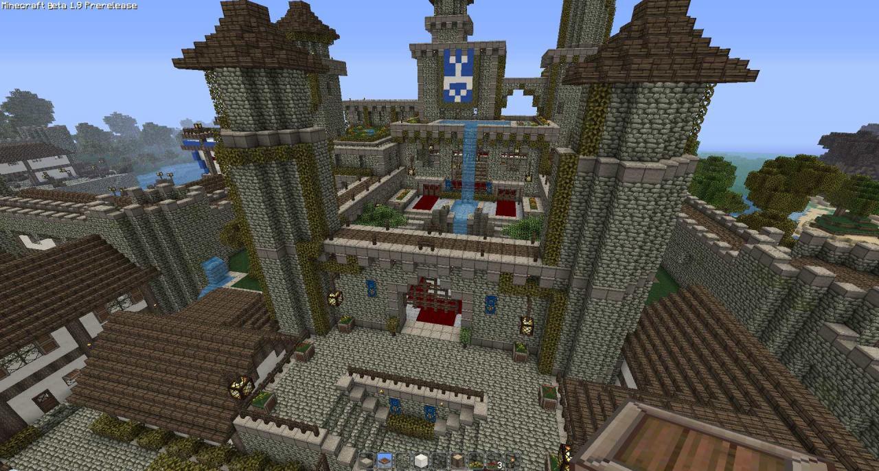 Minecraft medieval towns map minecraft medieval