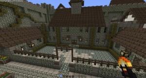 minecraft map ville medieval village