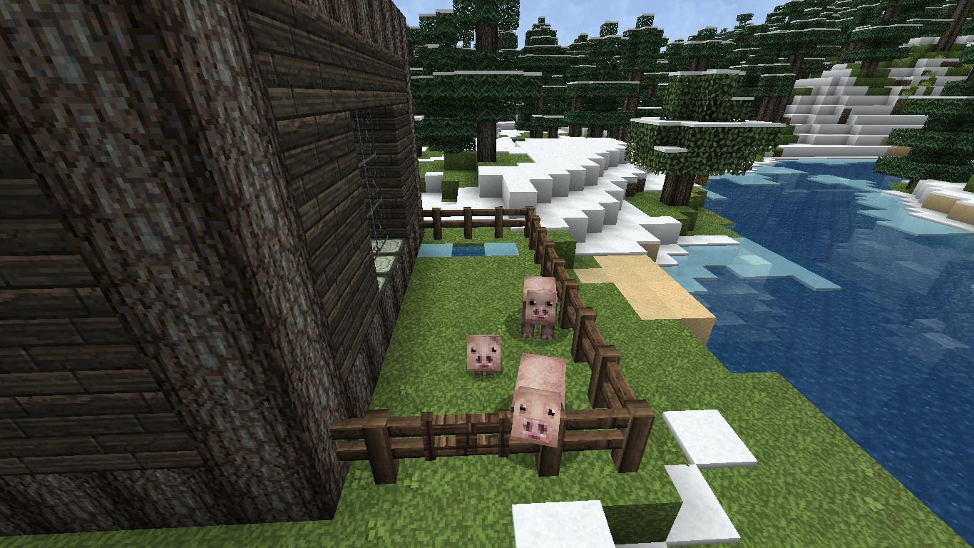 Comment faire une barri re et un portail dans minecraft minecraft - Comment faire une laisse dans minecraft ...