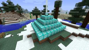 Minecraft-pyramide-balise-9x9