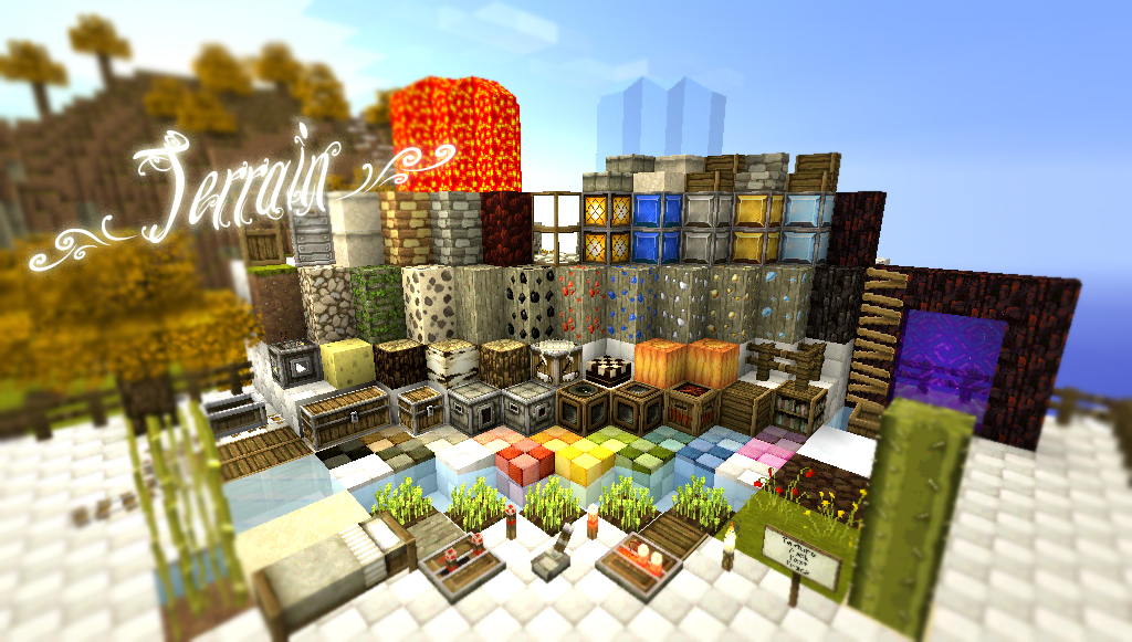 Minecraft texture pack pocket edition pe summerfields item