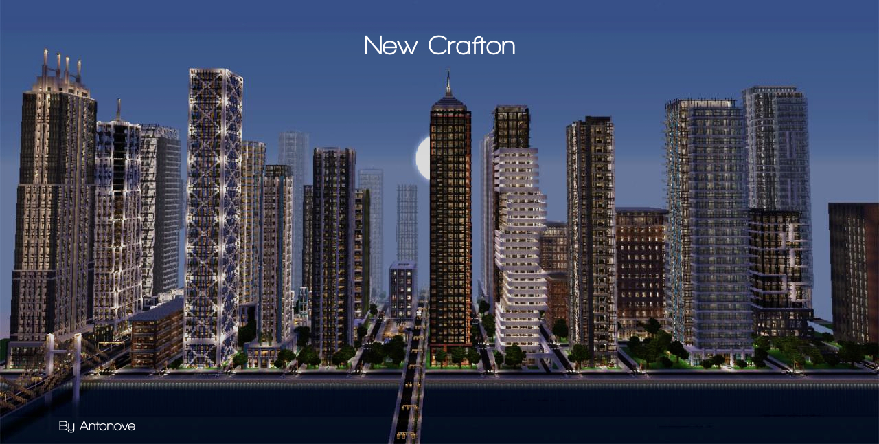 Minecraft-ville-moderne-New-Crafton
