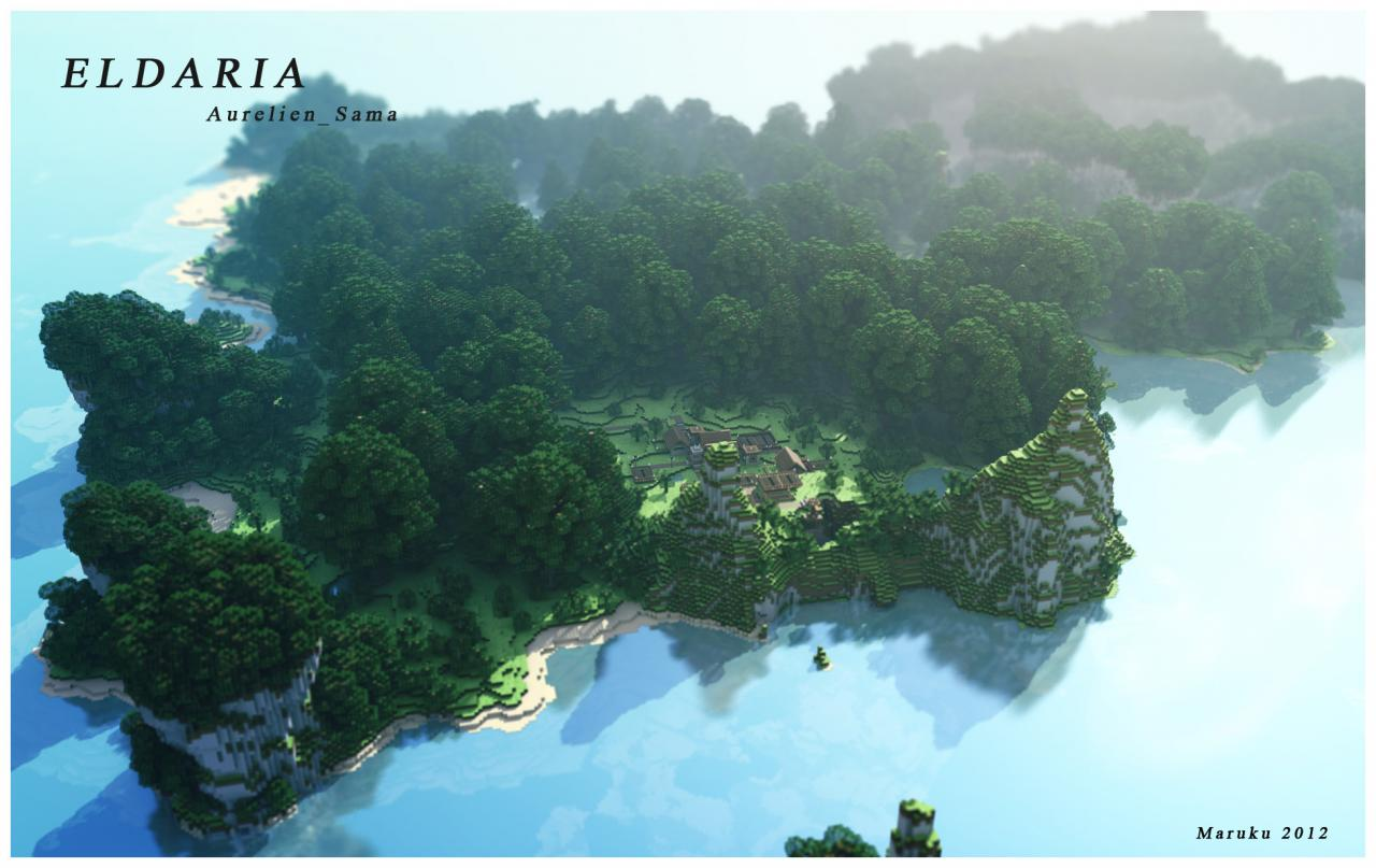 minecraft-map-survie-survival-eldaria-island-village