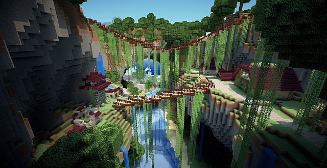minecraft-map-ville-en-ruine-kingdom-abandonee