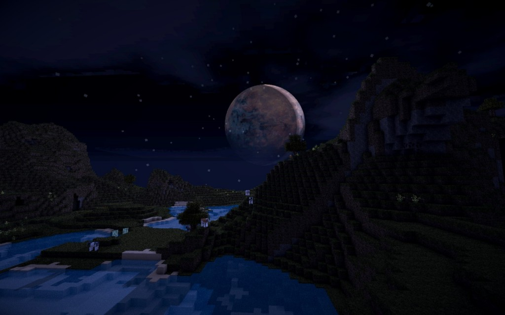 Minecraft-texture-pack-HD-cyberghostdes-lune-tres-realiste