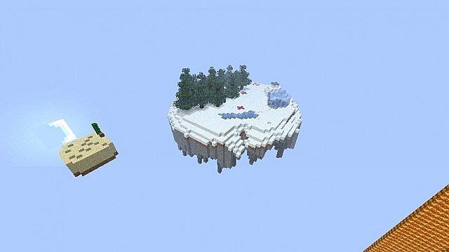 minecraft-map-survival-island-hunter-neige