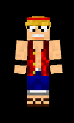 minecraft-skin-one-piece-luffy