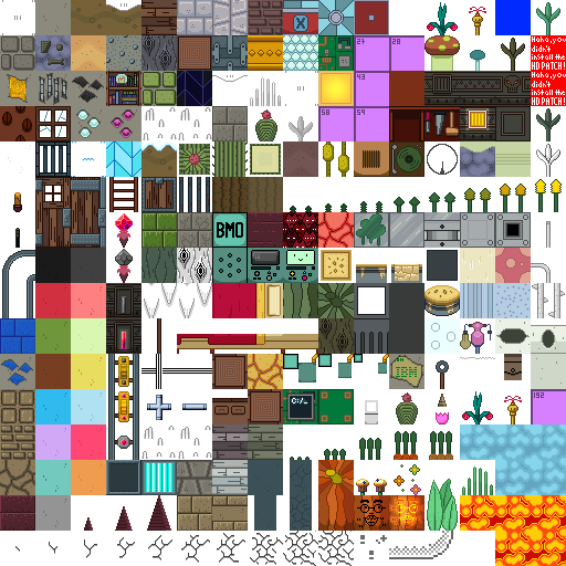 minecraft-texture-pack-32x32-adventure-time-item