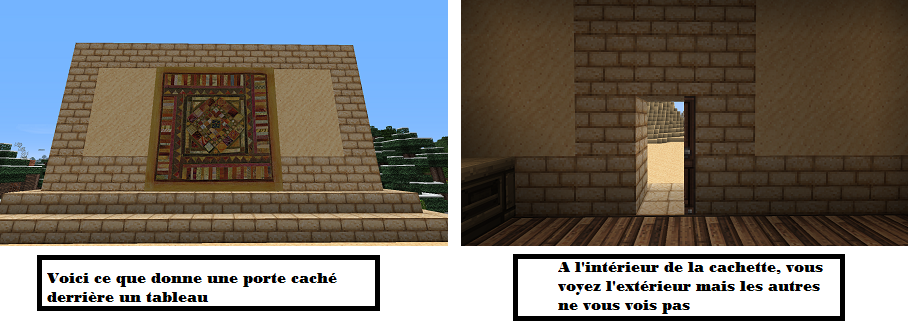 Comment faire un tableau dans minecraft minecraft - Comment faire une table de craft ...