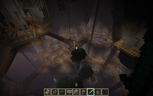minecraft-map-ville-sousterraine-cave