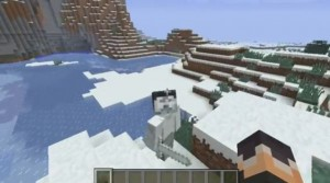 minecraft-mod-mob-avenutre-more-herobrine snow