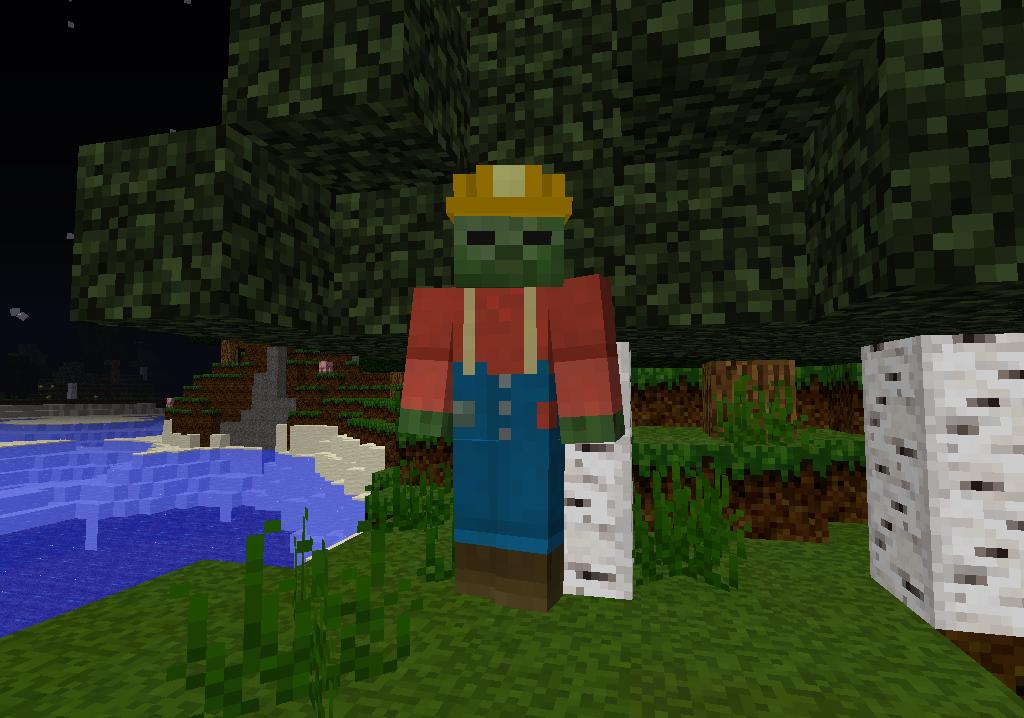 minecraft-mod-mob-mo-zombie-creeper-miner