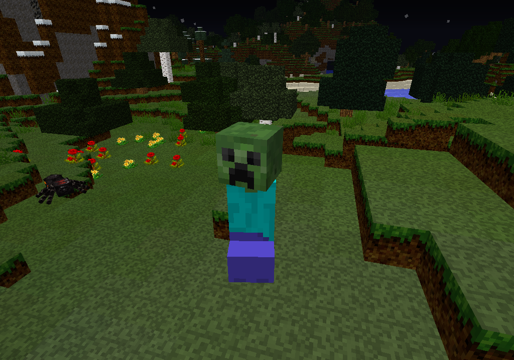 minecraft-mod-mob-mo-zombie-creeper