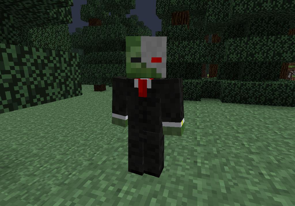 minecraft-mod-mob-mo-zombie-cyborg