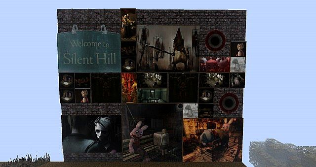 minecraft-texture-pack-128x128-silent-hill-tableau