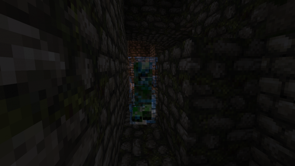 Minecraft-map-aventure-creeper-dungeon-creeper