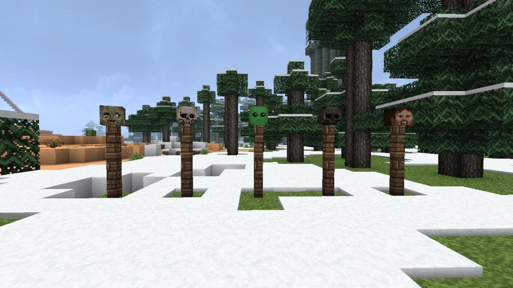 Minecraft-mod-craftable-heads