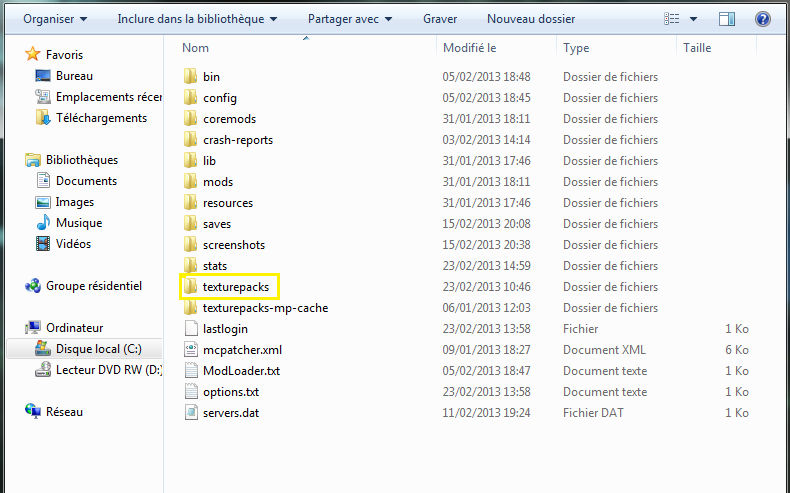 minecraft-installer-texture-pack-dossier