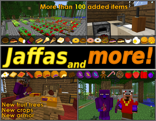 minecraft-mod-gameplay-jaffas-and-more