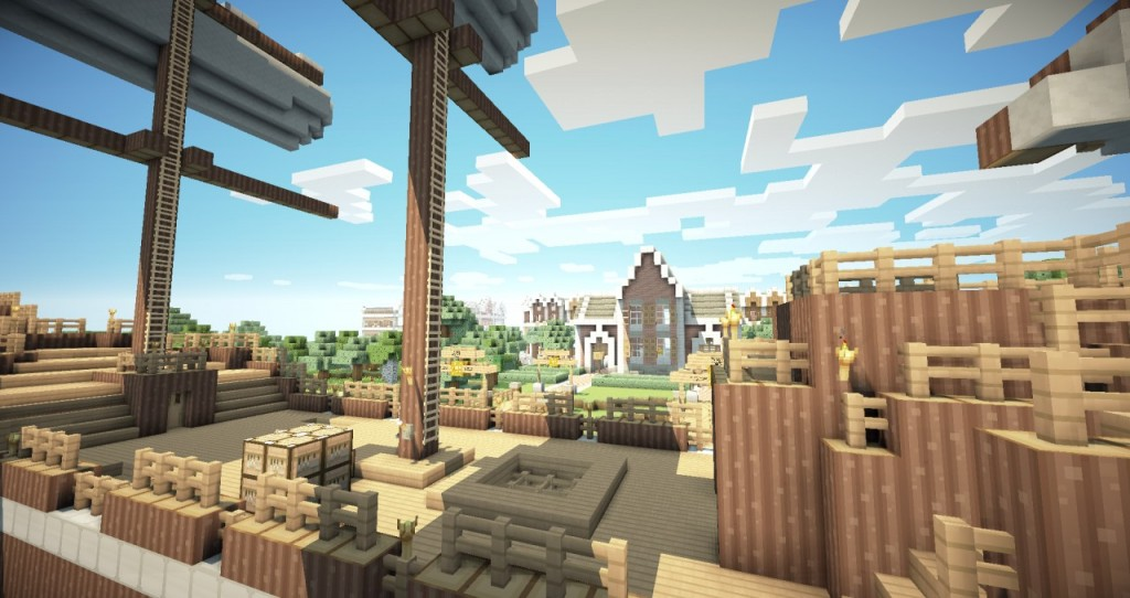 minecraft-texture-pack-16x16-smoothic-village