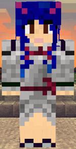 minecraft-skin-fairy-tail-wendy