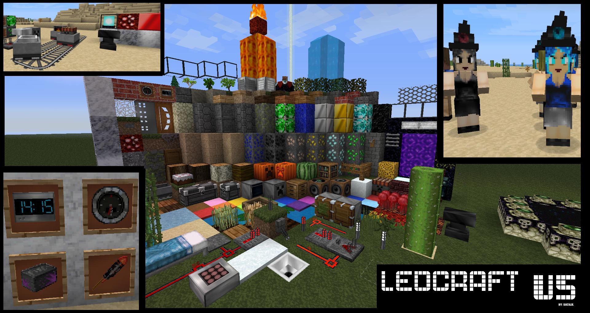 Texture pack 32×32 ledcraft 1 5 2