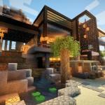 1.minecraft-maison-luxe-moderne