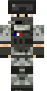 skin-minecraft-soldat-francais