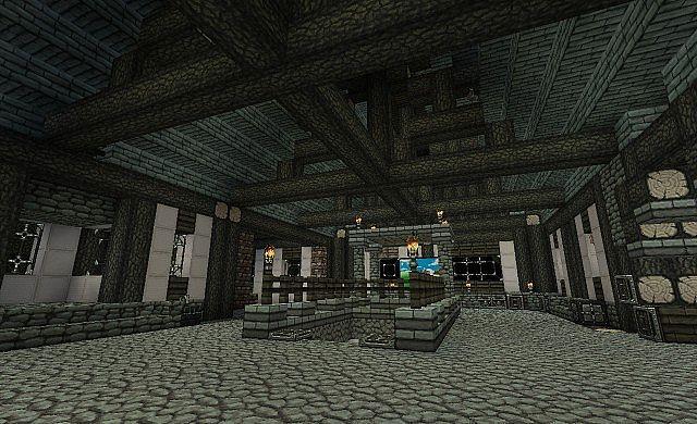 8.minecraft-maison-médiévale-intérieur