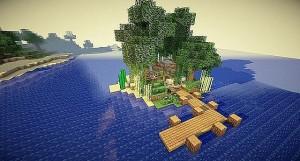 9.minecraft-maison-sur-ile