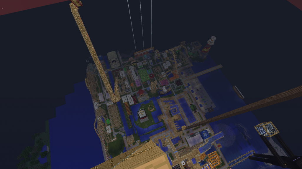 minecraft-map-funland3-vue-nuit