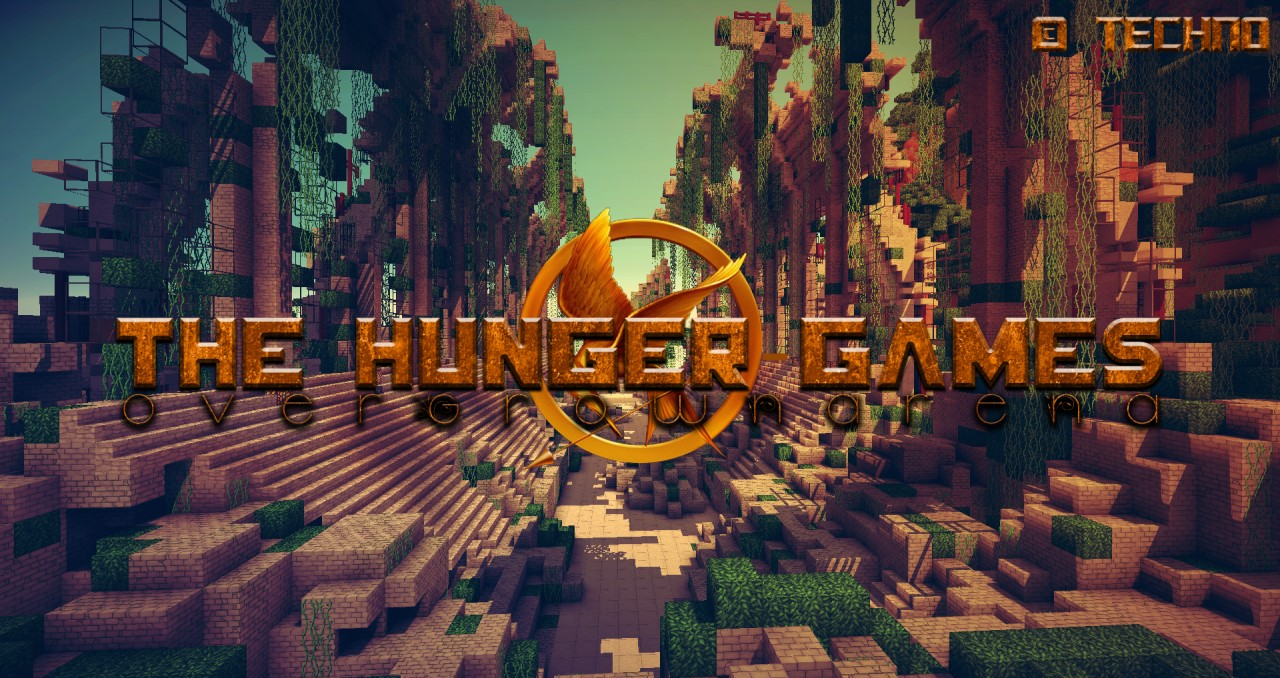 Map hunger games minecraft for Mine craft hunger games