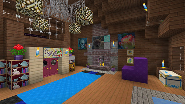 Interieur Maison Minecraft