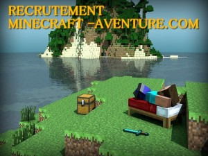 recrutement-minecraft-aventure