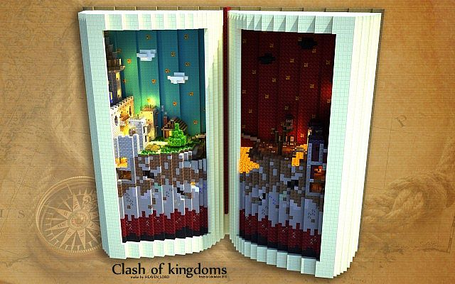 minecraft-map-pvp-clash-of-kingdoms