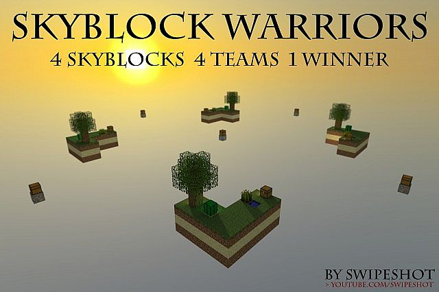 minecraft-map-pvp-skyblock-warrior