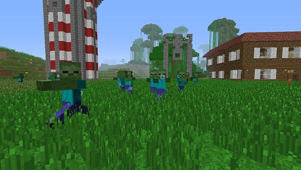 minecraft-serveur-minecraftz-zombie