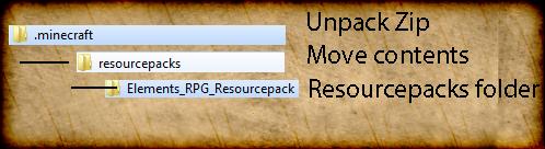 minecraft-texture-pack-element-rpg-installation