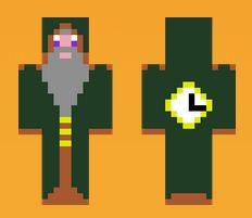 1.minecraft skin grand mage du temps