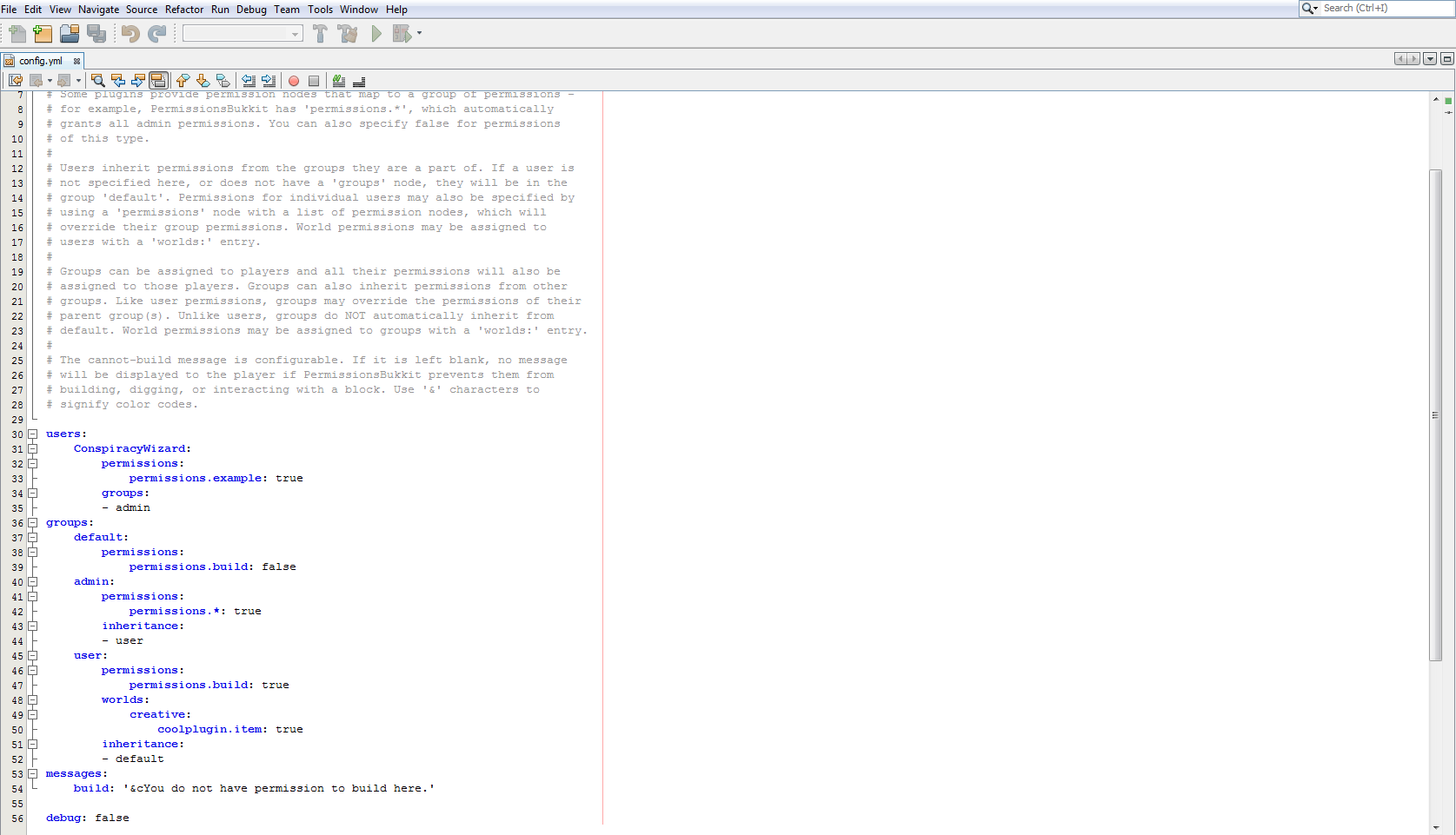 Fichier de configuration du plugin Cinch » placinunuph ml