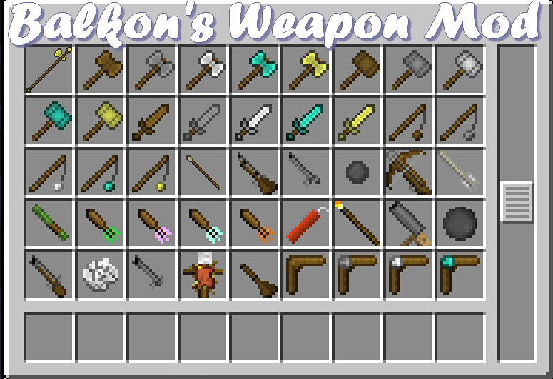 minecraft-mod-arme-balkons-weapon-mod