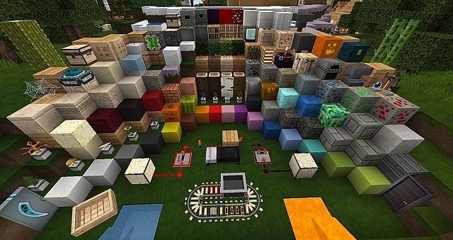 Resource pack HD 128x/64x : Flows 1.8 : Minecraft Aventure