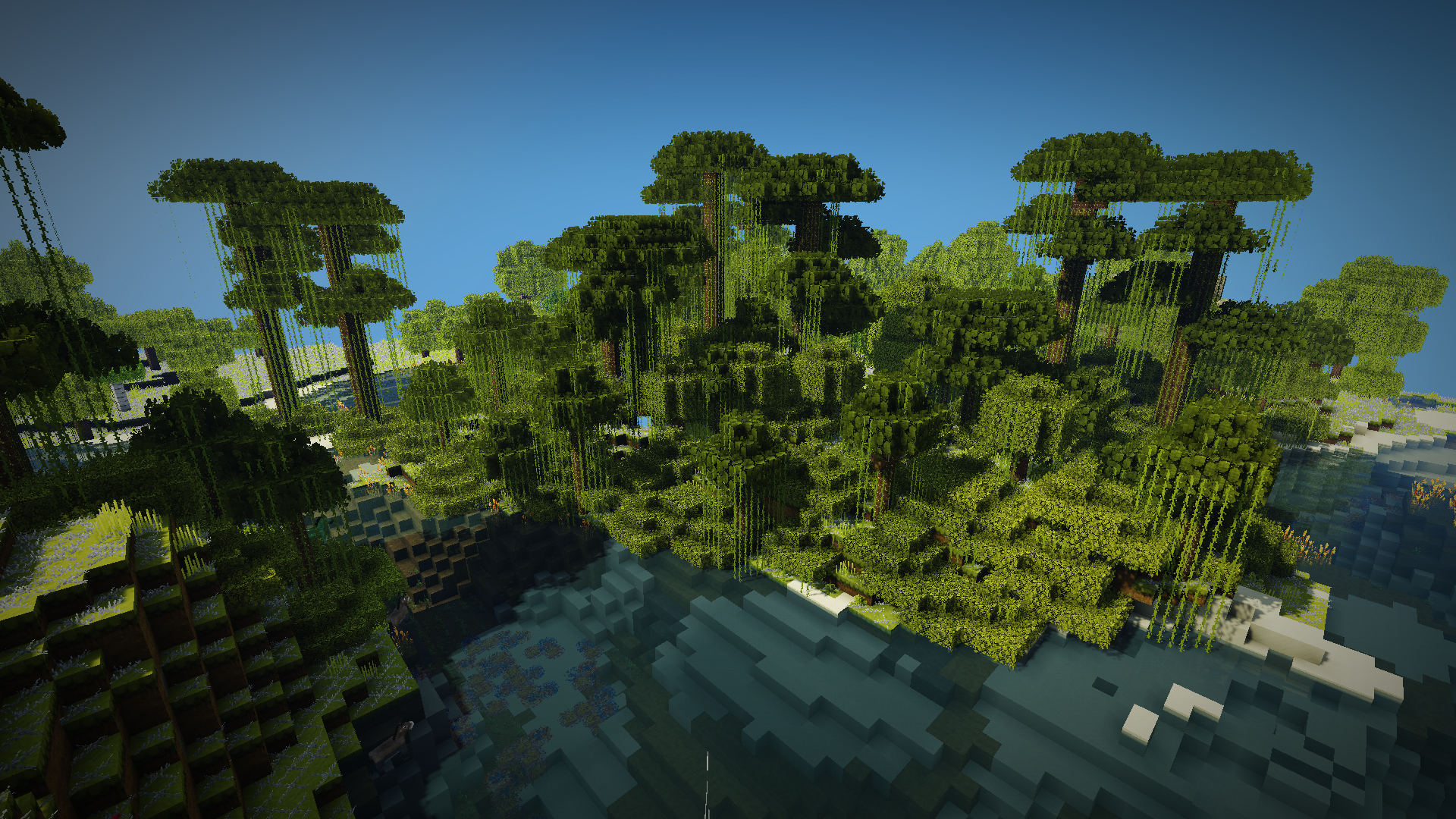 minecraft resource pack 16×16 greatwood 1.8 jungle