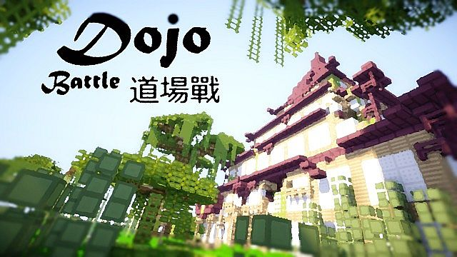 minecraft-map-pvp-dojo-battle