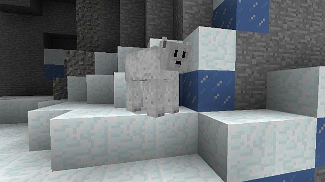 minecraft-mod-aventure-arctic-ours-polaire